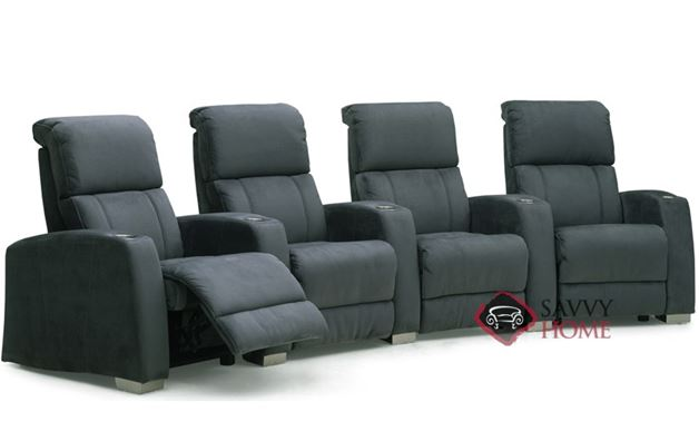 Hifi 4-Seat Reclining Home Theater Seating (Curved) by Palliser