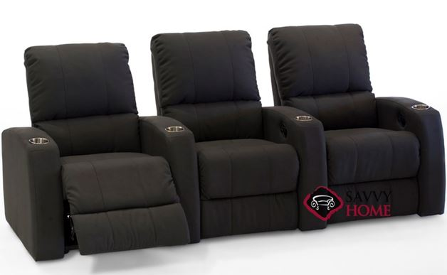 Pacifico 3-Seat Reclining Home Theater Seating (Straight) by Palliser