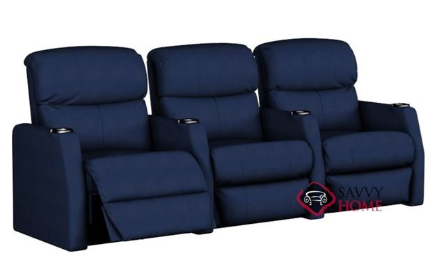 Atlantis 3-Seat Reclining Home Theater Seating