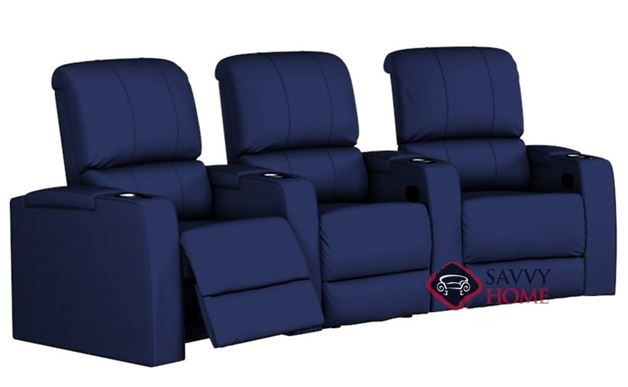 Playback 3-Seat Reclining Home Theater Seating (Curved)
