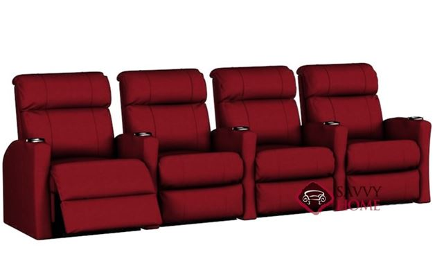 Smallville 4-Seat Reclining Home Theater Seating (Straight)