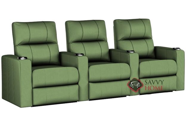 Springfield 3-Seat Reclining Home Theater Seating (Straight)