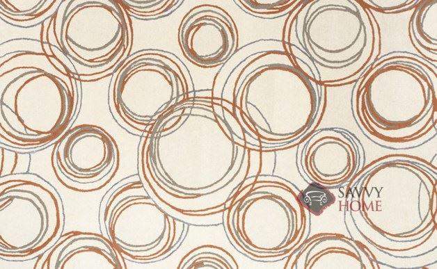 Spirograph Hand-Tufted Rug by Loom Lazar