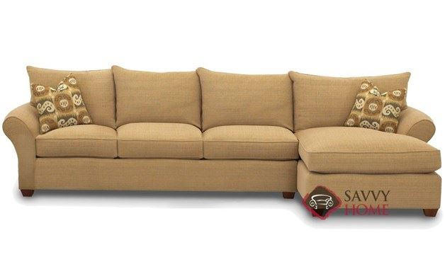Flagstaff Chaise Sectional Sleeper Sofa by Savvy