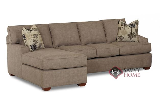 Palo Alto Chaise Sectional shown in Dumdum Stone