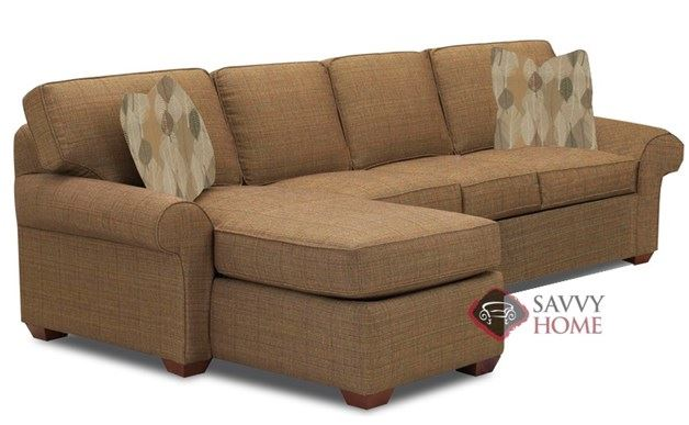 Seattle Full Chaise Sectional Sofa Bed by Savvy
