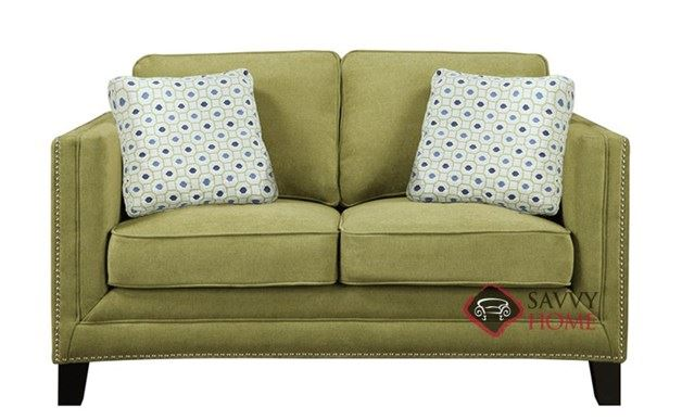 Carlton Loveseat by Emerald Home Furnishings in Caprice Waterlily