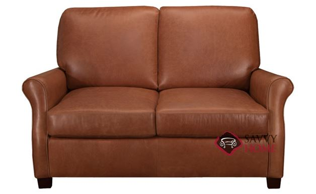 Evening Leather Loveseat