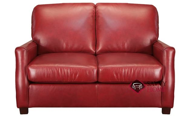 Plaza Leather Loveseat