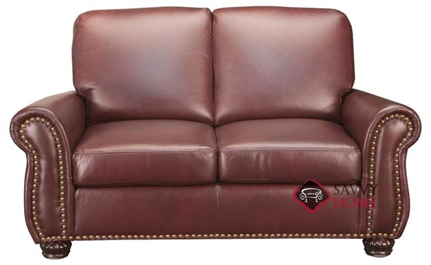 Taylor Leather Loveseat by Leather Living