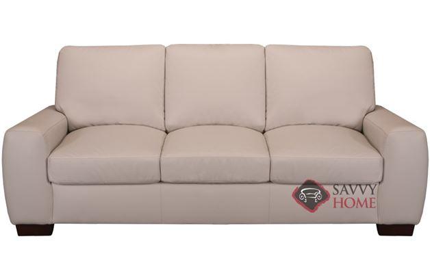 Member Leather Sofa in Iceberg