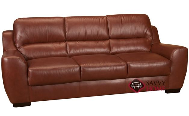 Westchester Leather Sofa in Rust