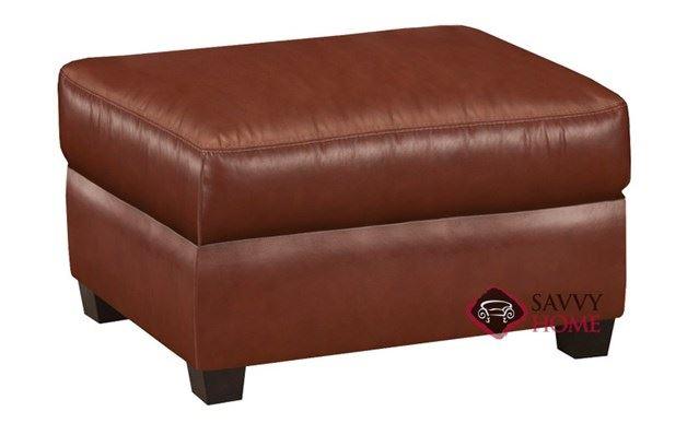 Evening Leather Ottoman