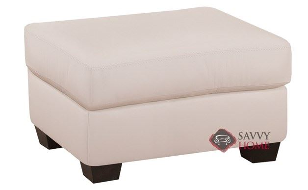 Member Leather Ottoman