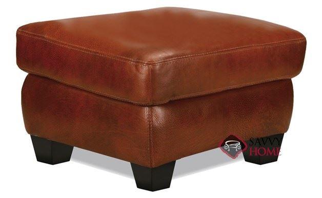 Prince Leather Ottoman