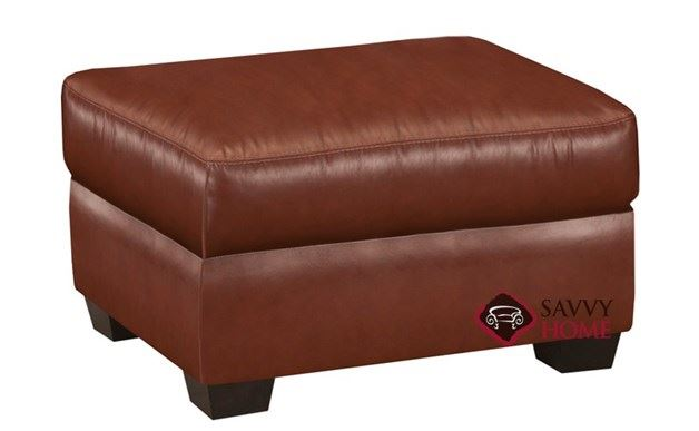 Westchester Leather Ottoman
