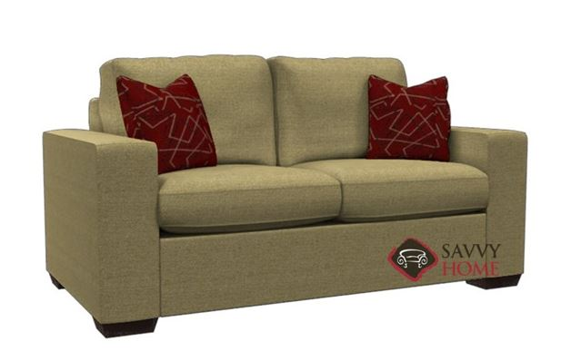 Sutton Place Loveseat by Lazar in Ideal Camel