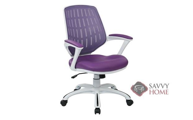 Calvin Mesh-Back Office Chair Rotated