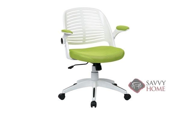 Tyler Mesh-Back Office Chair by Ave Six of Office Star in Green W6