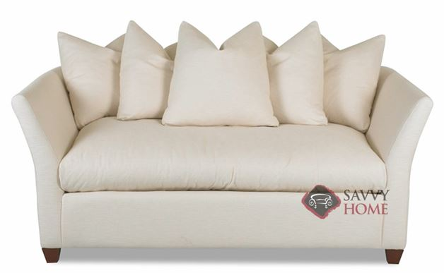 Fulham Loveseat with Down-Blend Cushions by Savvy