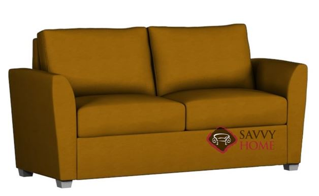 Cameron Paragon Full Leather Sleeper by Lazar Industries