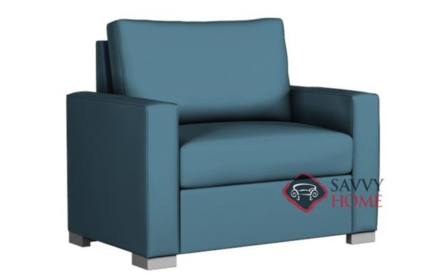 Pelham Paragon Chair Leather Sleeper by Lazar Industries
