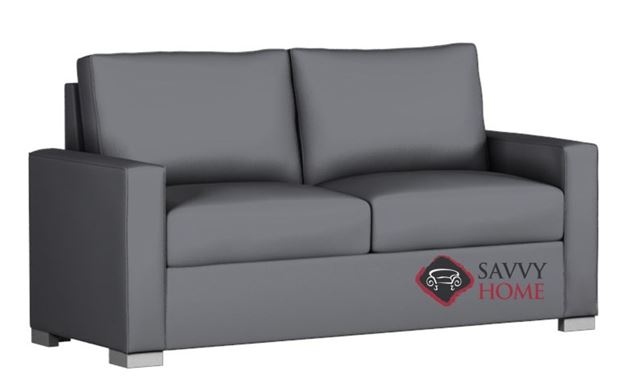 Pelham Paragon Full Leather Sofa Bed by Lazar Industries--Power Mechanism  Available