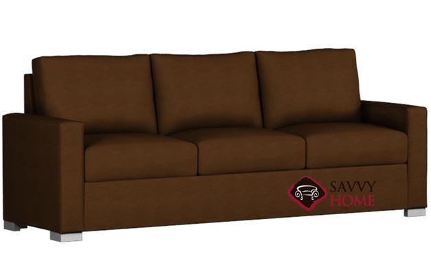 Pelham Paragon King Leather Sleeper by Lazar Industries