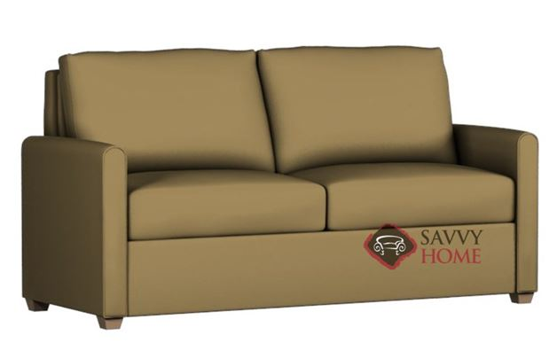 Somerset Paragon Queen Leather Sleeper by Lazar Industries