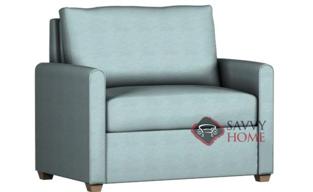 Somerset Paragon Chair Leather Sleeper by Lazar Industries