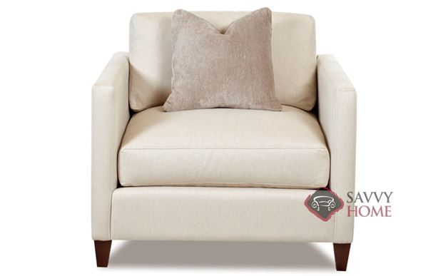 Jacksonville Chair with Accent Pillow by Savvy