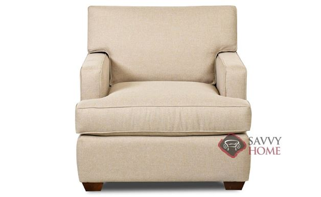 Lincoln Arm Chair by Savvy in Hayden Beige