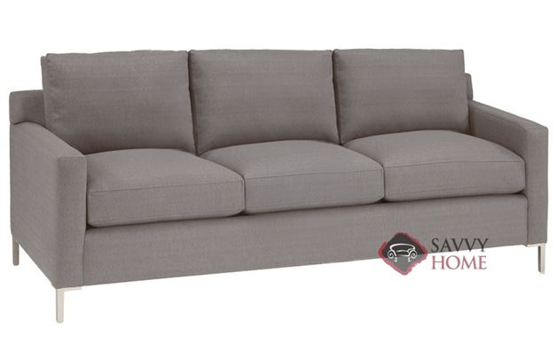 Soho 3-Cushion Sofa by Lazar Industries in Luscious Silver