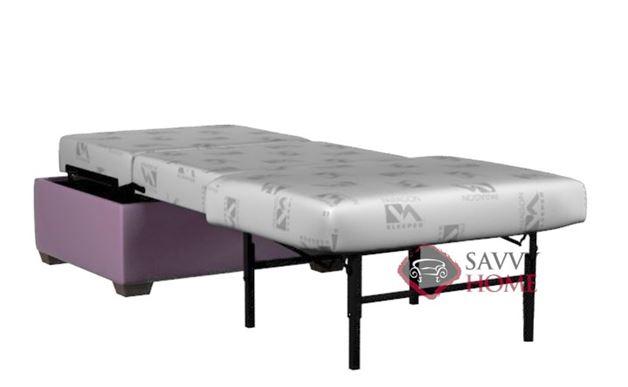 Cool Cameron Paragon Cot Leather Ottoman Sofa Bed By Lazar Industries Customarchery Wood Chair Design Ideas Customarcherynet