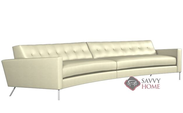 Flamingo Leather True Sectional by Lazar Industries