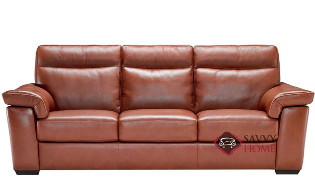 Cervo (B757-064) Leather Sofa by Natuzzi Editions