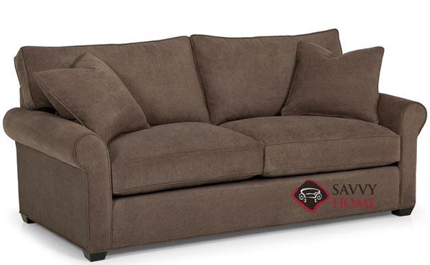 The 225 Queen Sleeper Sofa by Stanton shown in Caprice Granite