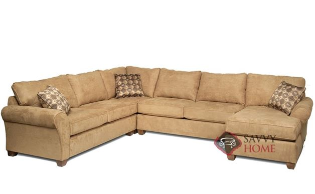 The 320 U-Shape True Sectional Full Sleeper Sofa by Stanton