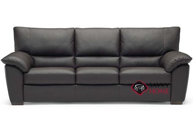 Trento B632 Leather Stationary Sofa By Natuzzi Is Fully