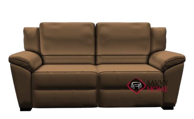 A319-005 Genoa Leather Loveseat by Natuzzi Editions