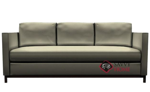 York Leather Sofa by Lazar Industries