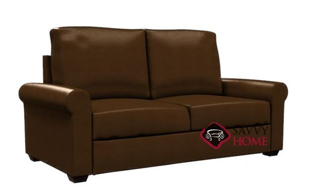Endicott Paragon Full Leather Sleeper by Lazar Industries