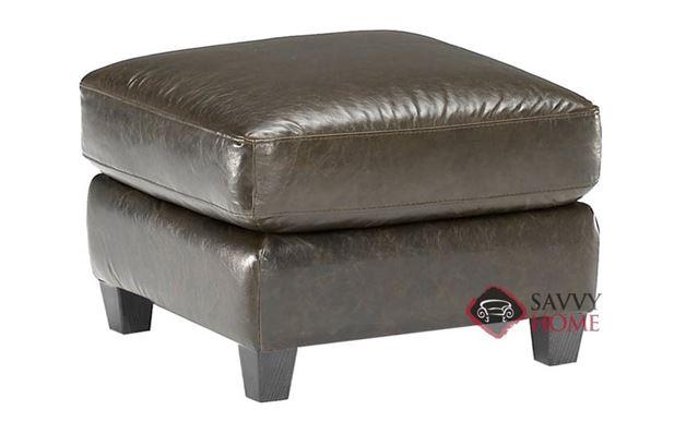 B534 Leather Ottoman