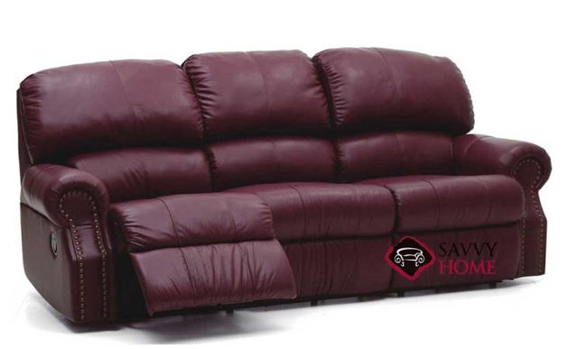 Charleston Dual Reclining Leather Sofa by Palliser