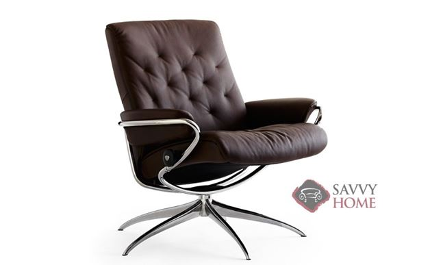 Metro Low-Back Reclining Chair by Stressless