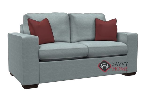 Sutton Place Leather Loveseat by Lazar Industries