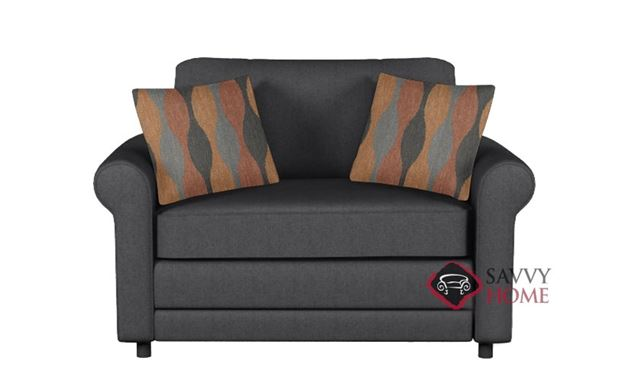 The 202 Twin Sleeper Sofa by Stanton in Jitterbug Gray