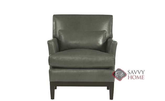 Cumberland Leather Arm Chair by Bernhardt Interiors