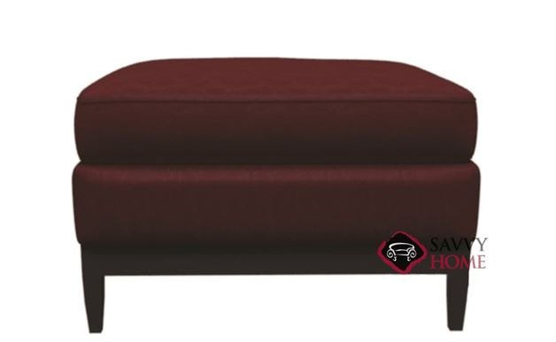 Cumberland Leather Ottoman by Bernhardt Interiors