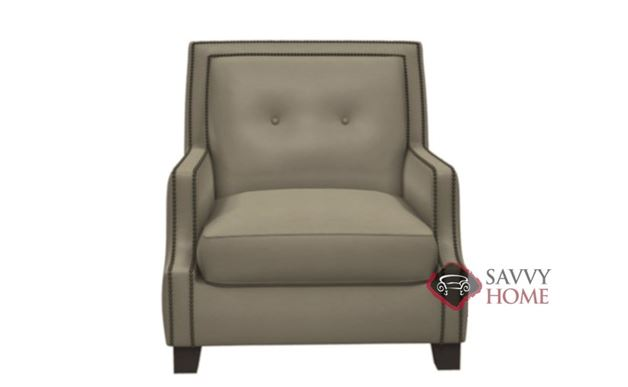 Franco Leather Arm Chair by Bernhardt Interiors